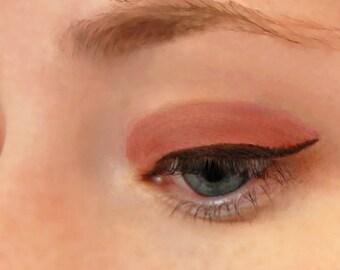 Sunburn Copper Eyeshadow Eyeliner - All-Natural Gentle Vegan Mineral Makeup
