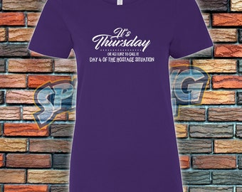Its Thursday Ladies Tee