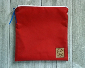 Reusable Sandwich Bag - Red Nylon