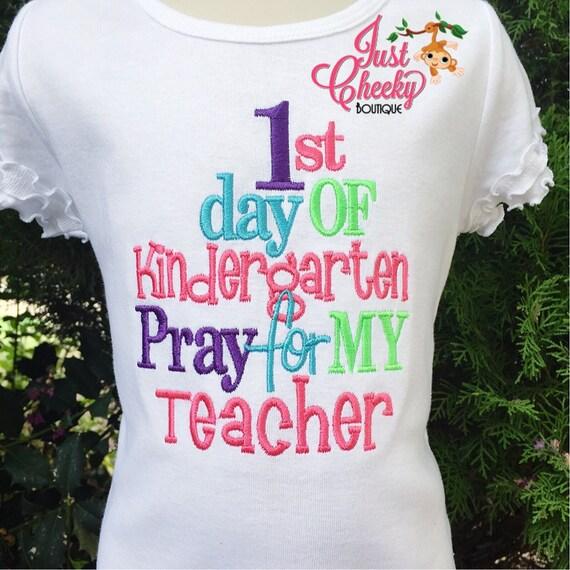 1st Day of Kindergarten - Back to School Shirt - First Day of School Shirt - School Bus -Kindergarten 1st Grade 2nd Grade -Graduation Shirt