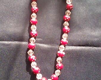 Necklace effect diamond Leila series No. 3