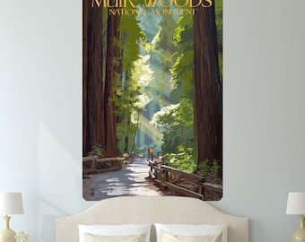 Muir Woods National Monument Wall Decal - #60918