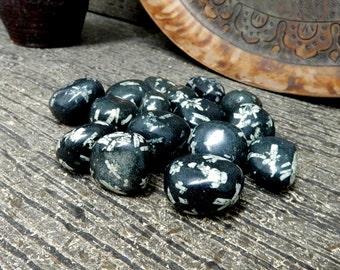 Tumbled Stone -- Tumbled Chinese Writing Stone - (TS-118-05)