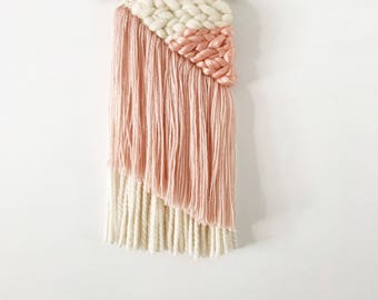 Pink Asymmetrical Weaving