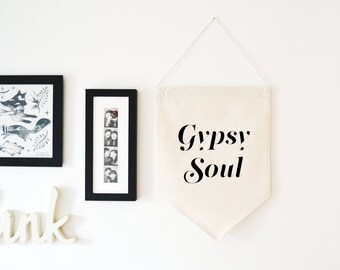 Gypsy Soul Wall Hanging Banner