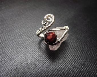 Red Tiger Eye Ring