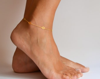 bracelet ankle finejwlry white anklet collections toe products triple gold shape anklets a topaz sapphire pear productimg bezel