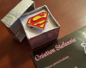 Superman jewels / / Superman jewelry