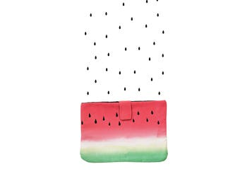 WATERMELON COVER:  Tropical Tablet cover, iPad Case, Ipad Envelope Case, ipad gear, Tablet cases, laptop bag.