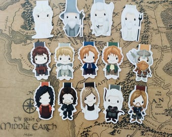 The Lord of the Rings — magnetic bookmarks