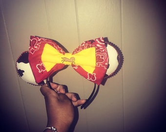 Disney Inspired Toy Story Andy/Jessie Ears