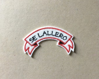 Se Lallero Sew On Embroidered Patch