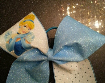 Disney Princess Cinderella Cheer Bow