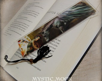 Brutaliton... Bookmark...Fairy with  befriending a baby/foal Pegasus... fantasy fairy art