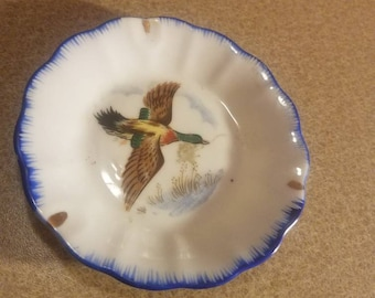 Ash Tray with flying duck