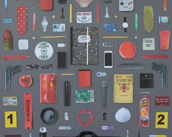 Mr Robot Poster, artwork by Jordan Bolton