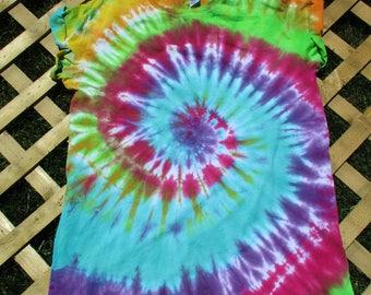 Tie Dye Tshirt Dress (Medium)
