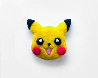 pik-a-me! - exquisitely handsewn Pikachu