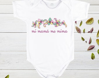 Mothers day tshirt custom, my mom pampers met, Mother's Day Tshirts, funny designs for baby, mother day gift, baby clothes