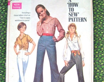 Spring Sale Vintage sewing pattern by Simplicity 8009.  Bust 34 inches