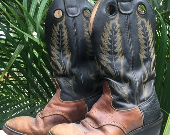 Vintage 70's cowboy boots