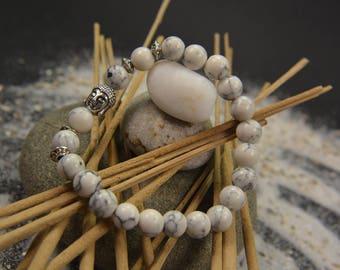 Men/women bracelet natural stone beads buddha head handmade fashion bangle hot
