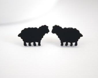 Black Sheep Earrings
