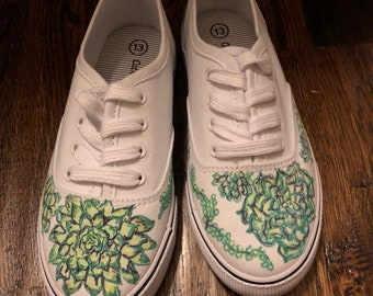 Succulent girls tennis shoes