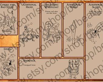 Munchkin card manager (sheet 2 of 2), English