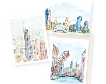 EVR Petite Print Packs: Assortment of Chicago A2 Folded Cards