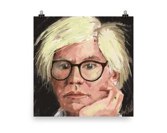 Andy Warhol- Matte Print