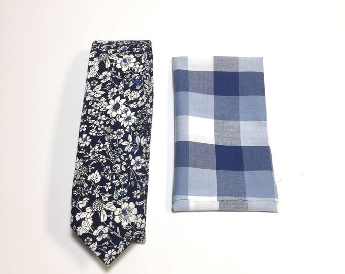 "The ""King Elsie Bell"" Tie and Square Pack"