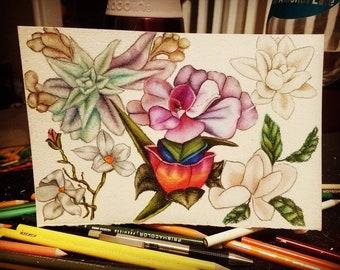 Color on colour