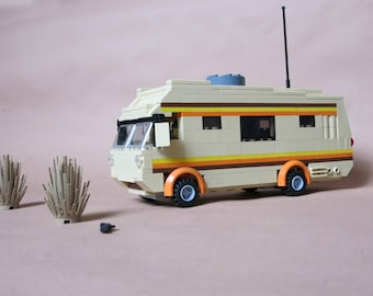 Custom Lego Breaking Bad Meth Lab RV Playset **made to order**