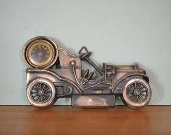Vintage Tulip Brand Antimony Ware 1903 60 hp Mercedes Thermometer DBTI