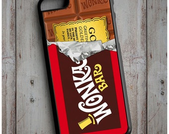 Willy Wonka and the Chocolate Factory Golden Ticket Case Cover for any iPhone