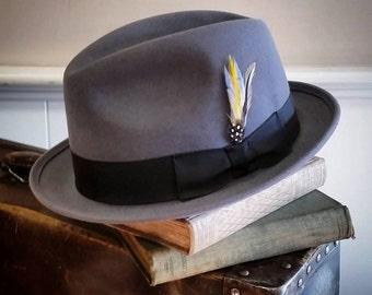 Fedora-Felt gray hat