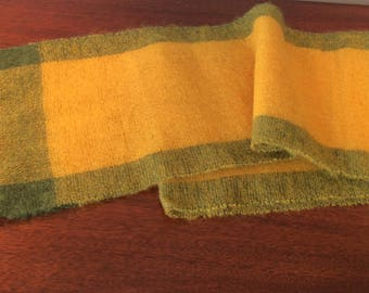 Japanese Obi or scarf  50% wool and mohair