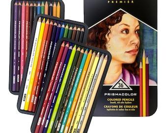 New Prismacolor Premier Artist Soft Core Colored Pencils 36 count pack- MSRP 72.00