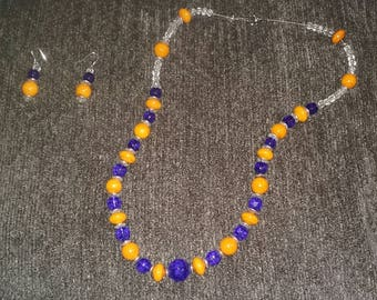 Necklace and Earrings (#70)
