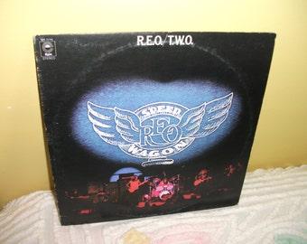 Reo Two Vinyl Record Album NEAR MINT condition