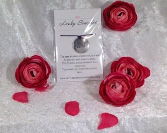 Lucky Bracelet - Beautiful - favour gift, wishing bracelet, sentimental gift