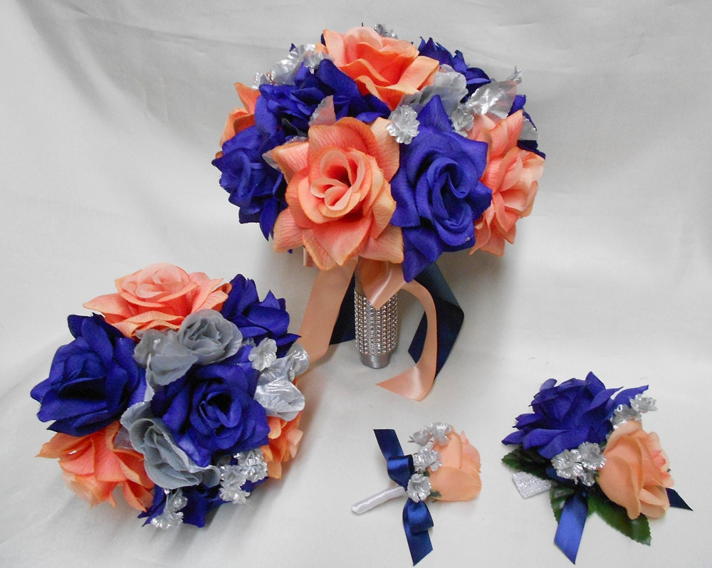 Coral Colored Silk Flowers Gallery Flower Decoration Ideas