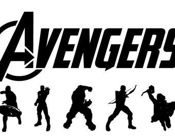 Avenger  eps, Avenger  svg, Avenger  silhouette, Avenger , cutting files, Avenger stamped, silhouette files,  Avengers svg, Superhero eps