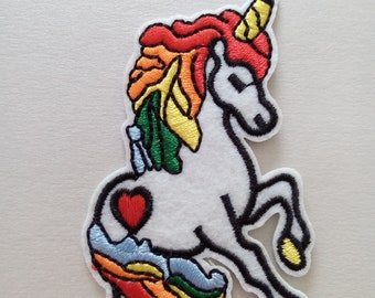 Iron On Patches, Unicorn Iron on Patche, Clothes Decoration tool