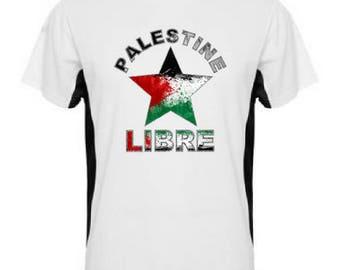 Free Palestine star T-shirt. Palestine man woman t-shirt