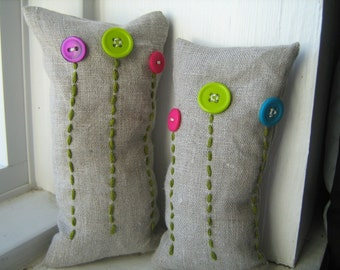 Cute as a Button Flower Bean Bags