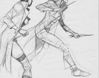 Blink Exiles #6 sketch