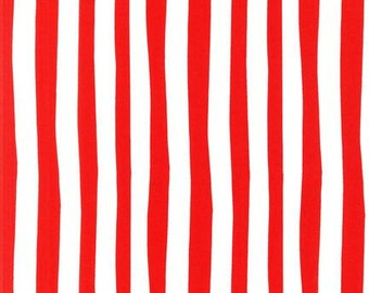 Dr Seuss Red & White Stripes from Robert Kaufman