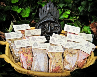 PEACE and PURIFICATION Herbal Loose Incense herbs and resins handblended
